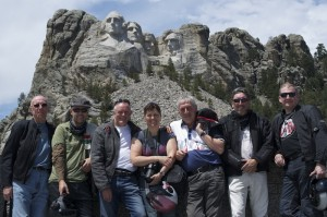 Mount Rushmore, one of the many stops on our 2012 Coast To Coast Tour