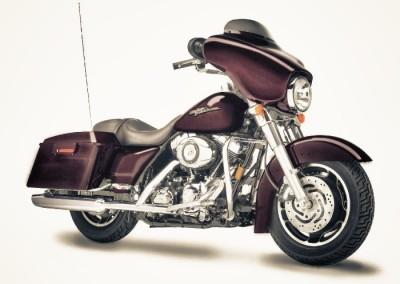 Bike Hire Harley Davidson Street Glide
