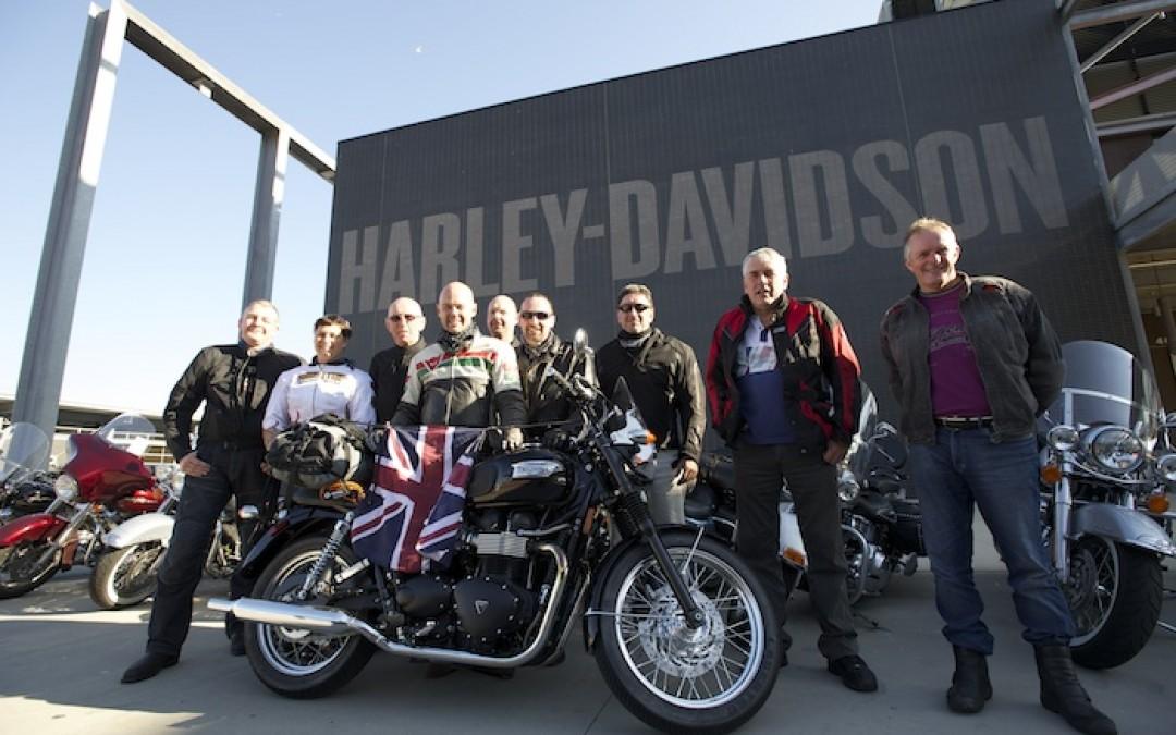 America Coast To Coast Motorcycle Tour Photos