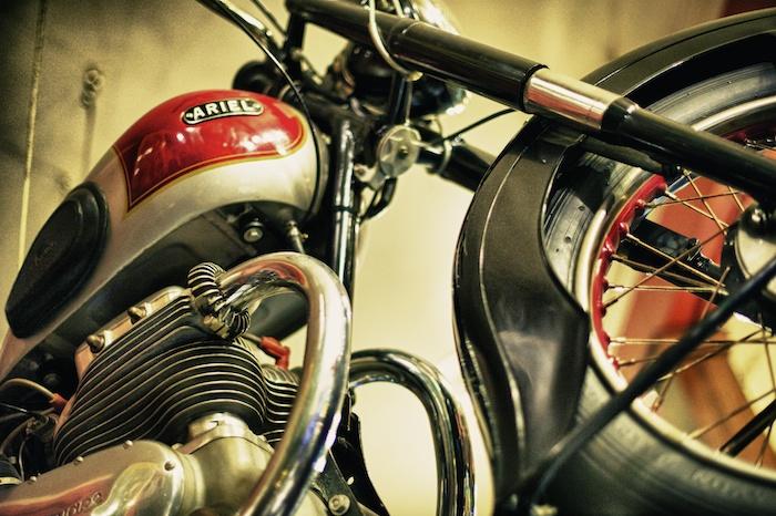 Eddie Rickenbacker's San Francisco Motorcycle Bar