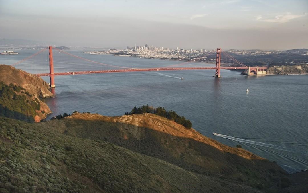 Sunset Ride over the Golden Gate Bridge