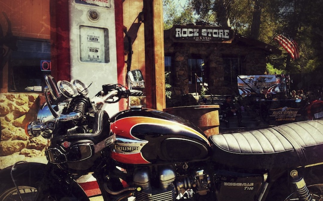 Great Rides: Triumphs To The Rock Store!