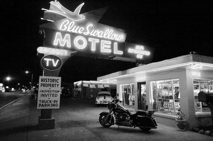 Route 66 Treasure: The Blue Swallow Motel