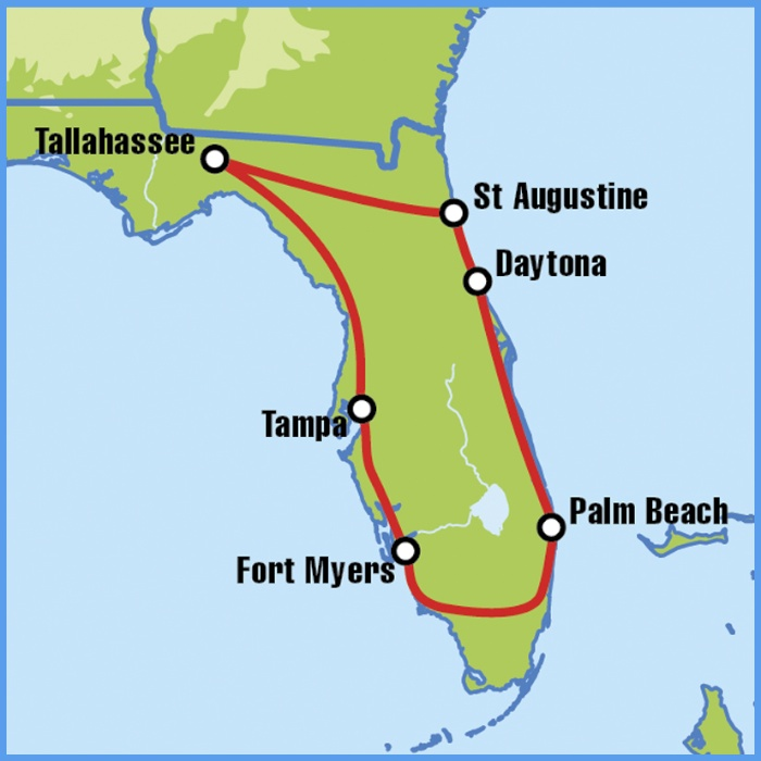 Florida Motorcycle Tour